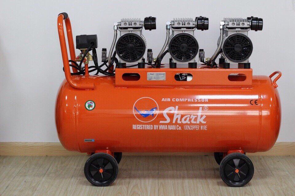 Máy nén khí không dầu Shark 100 lít